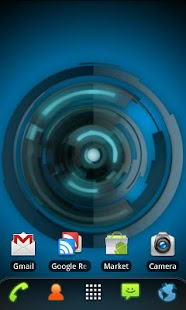 RLW Theme Black Blue Tech- screenshot thumbnail