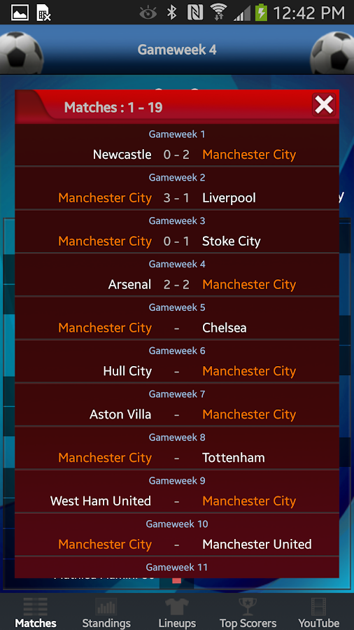 English League Live- screenshot