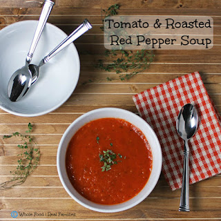 Tomato and Roasted Red Pepper Soup