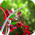 Jungle of Flowers 3D LWP icon