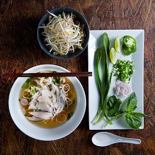 Pho Ga Vietnamese Chicken Noodle Soup.