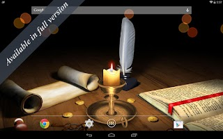 Screenshot of 3D Melting Candle Free