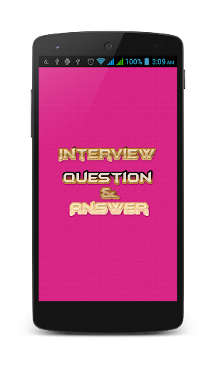 Interview Question and Answer