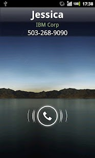Rocket Caller ID CC Theme - screenshot thumbnail