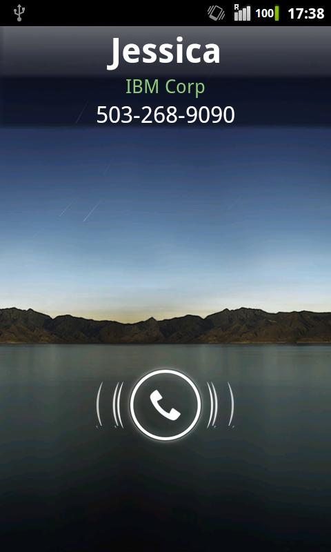 Rocket Caller ID CC Theme - screenshot