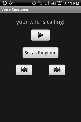 VOICE Ringtones - screenshot