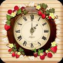 ストロベリー時計ウィジェット icon