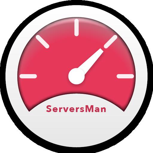 ServersMan SIM LTE用速度制御アプリ 工具 App LOGO-硬是要APP