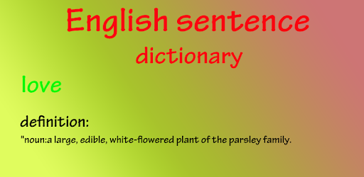 English sentence dictionary apps on google play malvernweather Gallery