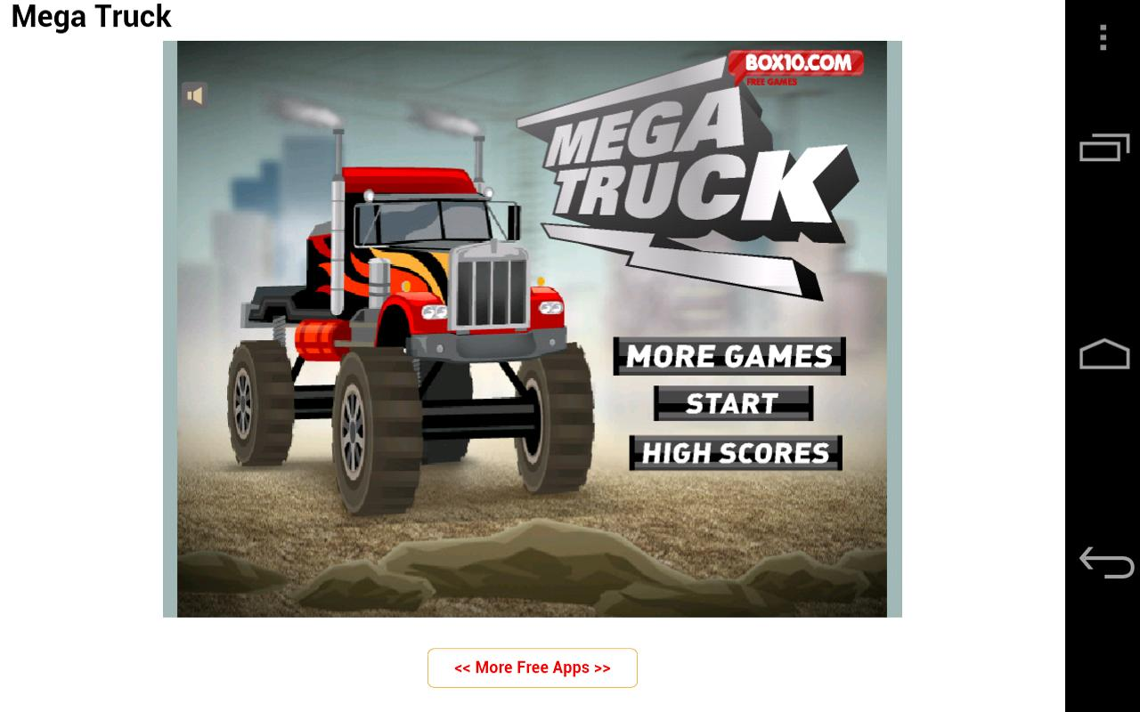 Free Truck Games - screenshot