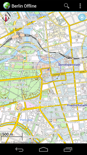 Offline Map Berlin Germany