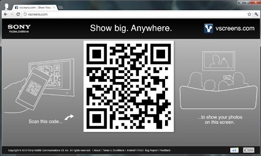 vscreens photo sharing beta - screenshot thumbnail