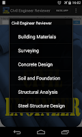 Screenshot of Civil Engineering Reviewer