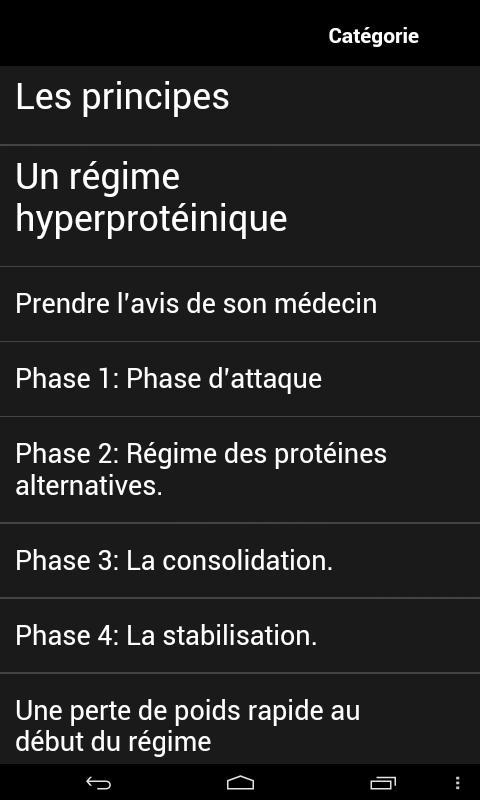 Le Régime Dukan - screenshot