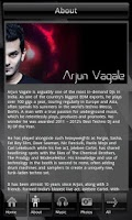 Screenshot of Arjun Vagale