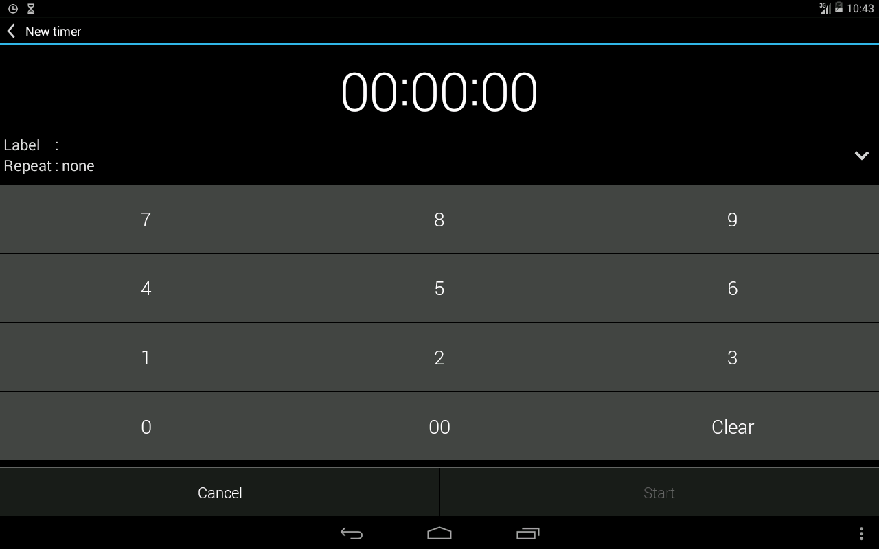Alarm & Timer (Free)- screenshot