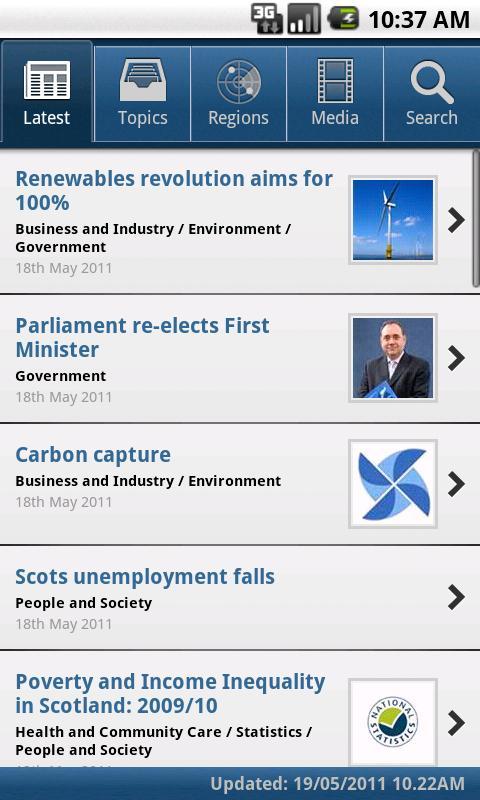 Scottish Government News - screenshot