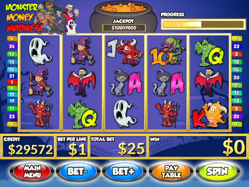 Money Mad Halloween Slots