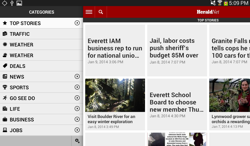 HeraldNet – The Everett Herald - screenshot