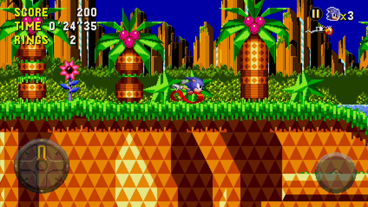 Sonic CD Lite - screenshot