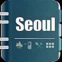 首尔旅游指南(离线3D地图、景点、餐饮、酒店) icon