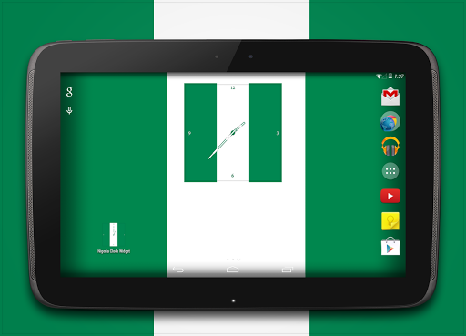 Nigeria Clock