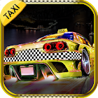 3D Taxi Drag Race icon