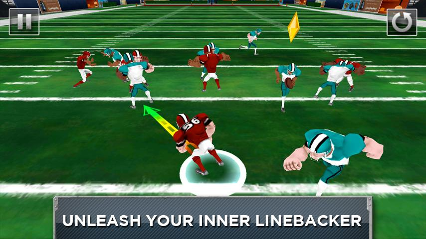 Mobile Linebacker - Football - screenshot