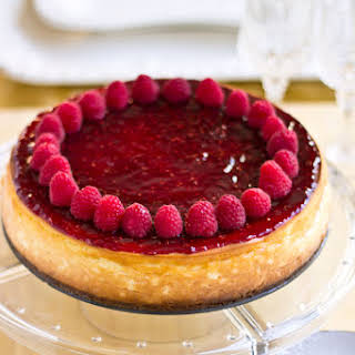 Raspberry Cheesecake.