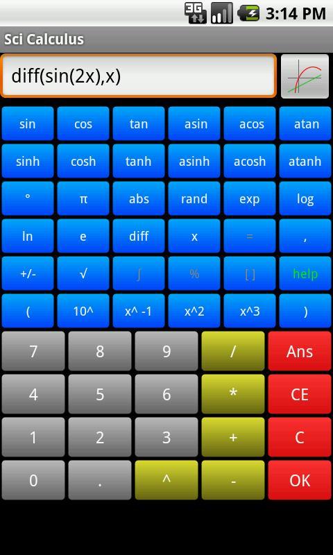 Sci Calculus- screenshot
