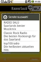 Screenshot of Radio Salü