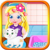 Baby Sofia White Kitty Game