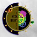 Glowing Gear Clock - UCCW icon