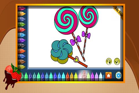Coloring Book Chocolates 1.6.0 screenshots 3