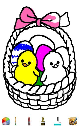 Easter Coloring HD
