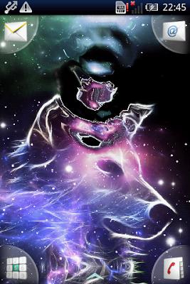 Neon Wolf Galaxy Magic FX - screenshot