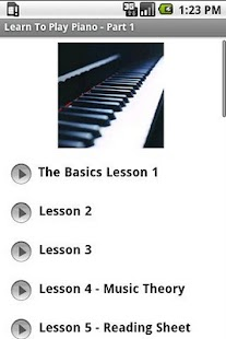 Learn To Play Piano - Part 1 - screenshot thumbnail