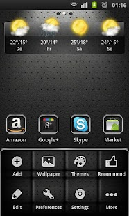 Elegant Theme 4 GO Launcher EX- screenshot thumbnail
