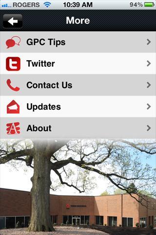 GPC Glossary- screenshot