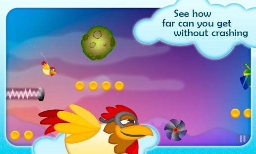 Chicken Dynamo - Tilt and Fly - screenshot thumbnail