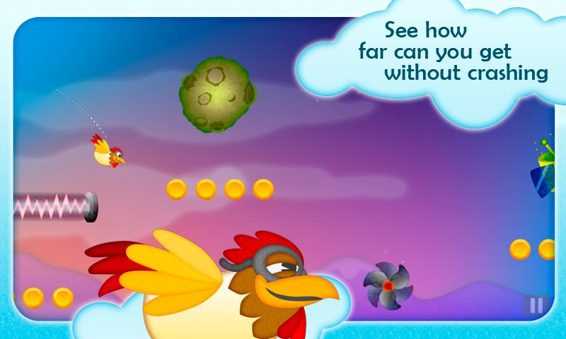 Chicken Dynamo - Tilt and Fly- screenshot