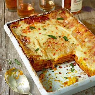 Roasted Butternut Squash Lasagna.