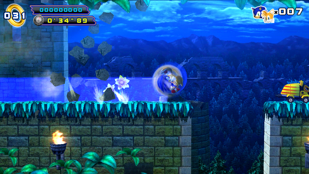 Sonic 4 Episode II- screenshot