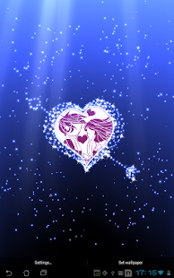 Hearts Live Wallpaper full - screenshot thumbnail