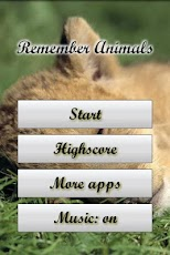 Remember Game: Animals Android Casual