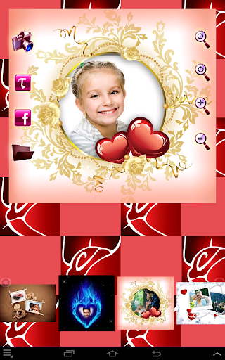 Lovely Photo Frames Collage 1.33 screenshots 4