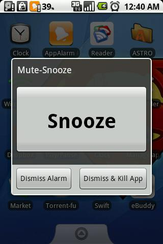 AppAlarm LITE - screenshot