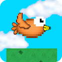 Blocky Bird Flying High icon