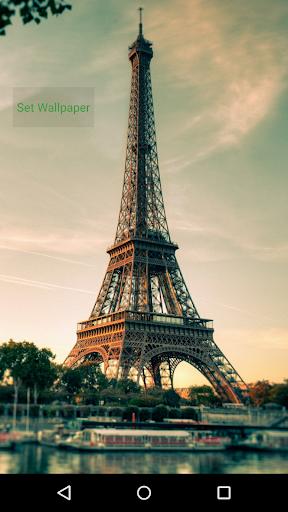 Wallpaper Eiffel Tower 3D