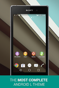 EXperiance Theme: Android L